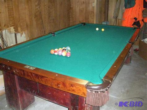 vintage pool table in great condition vintage pool
