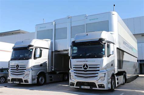 F1 Motorhome Trucks Mercedes Motorhome Mercedes Amg Petronas
