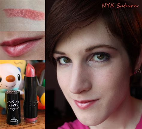 Lipstik Nyx Satuan the swatch station nyx saturn