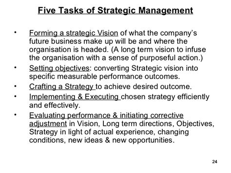 Corporate Strategy Mba Notes by Image Gallery Importance Strategic Management