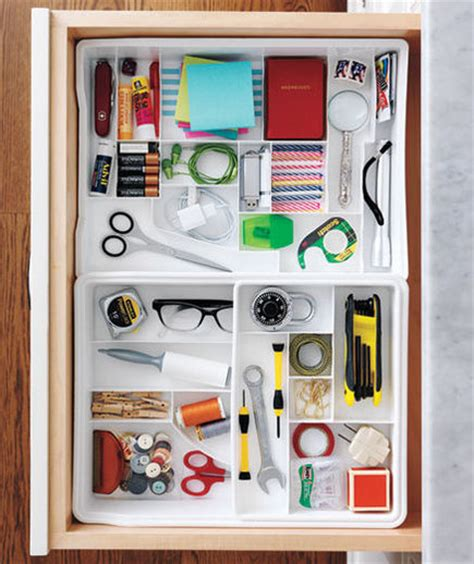 your ultimate junk drawer organizer real simple