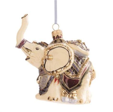 elephant ornament asian christmas ornaments by gump s