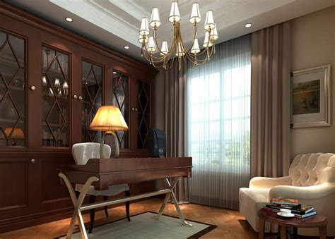 canadian study room interior design image 3d house free
