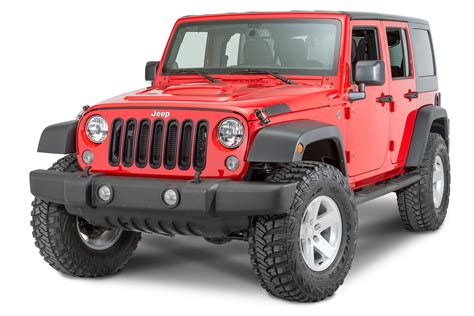 Jeep Wrangler Unlimited Mopar Mopar 174 Grille Inserts For 07 17 Jeep 174 Wrangler Wrangler