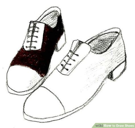 how to draw shoes 4 ways to draw shoes wikihow