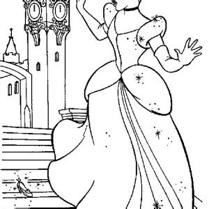 coloring pages of cinderella glass slipper cinderella glass slipper coloring pages