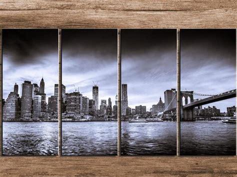 spray paint new york skyline black and white new york city skyline landscape modern