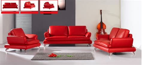 modern red sofa italian red leather sofa 2 397 00 jonus living room set