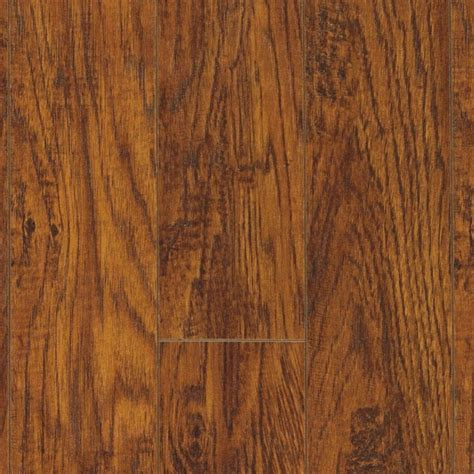 pergo xp highland hickory  mm thick     wide     length laminate flooring