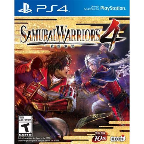 Samurai Warriors 4 Ii Bd Ps4 Samurai Warriors 4