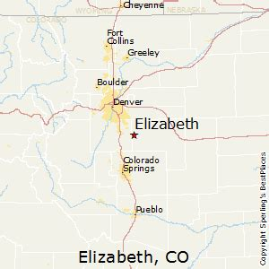 best places to live in elizabeth colorado