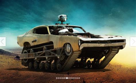 Mad Max Auto by Mad Max Fury Road Crash