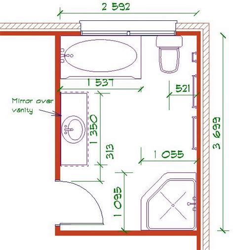 Bathroom Design Layouts Bathroom Layout Design Tool