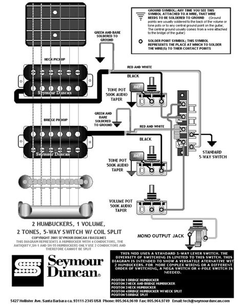 p rails humbucker parallel wiring diagrams 2 position