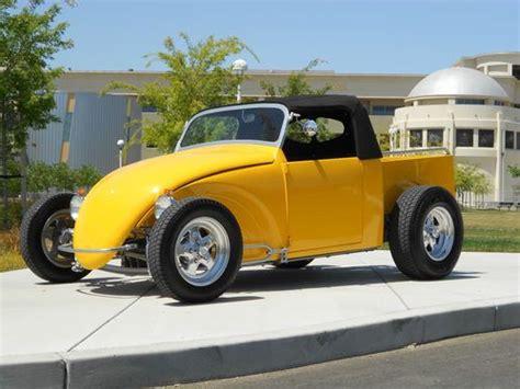 sell  full custom  vw bug volksrod pickup show car volkswagen ships worldwide  modesto