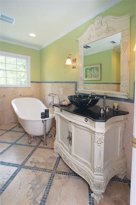 Just Two Fabulous Bathrooms by Bath Tile Trend Floor To Ceiling Fabulous