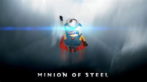 wallpaper minion man  steel superman games