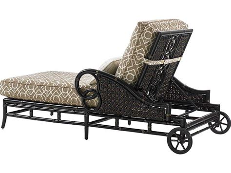 tommy bahama chaise lounge tommy bahama outdoor marimba wicker chaise lounge 3237 75