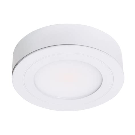 armacost lighting purevue dimmable bright white led puck