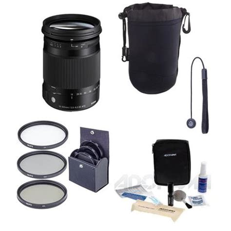 sigma 18 300mm f3.5 6.3 dc macro os hsm lens for canon eos