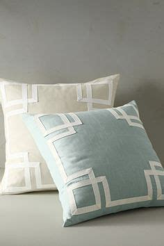 Sale Bantal Tiup Cing C Pillow aqua velvet pillow cover made to order 20 quot x20 quot with attached key trim in beige