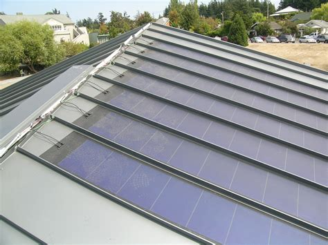 solar pannel roof pvl uni solar pv roofing laminate for standing seam metal roofs