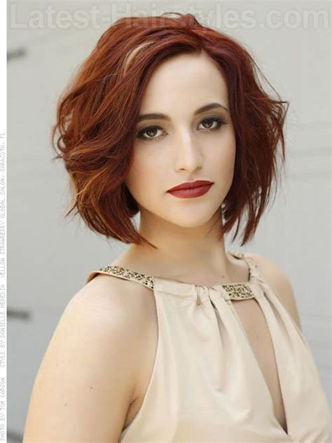 best hair styles for thin straight slightly wavy thinning on top hair 56 best hairstyle wavy bobs images on pinterest hair