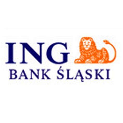 ing bank banking ing bank śląski