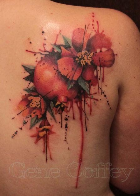 pomegranate by gene coffey tattoonow