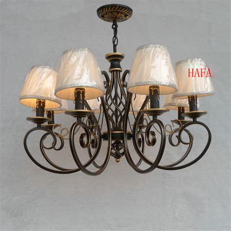 vintage wrought iron chandelier e14 european american vintage black wrought iron candle chandelier lighting 6 8 heads e14 idyllic
