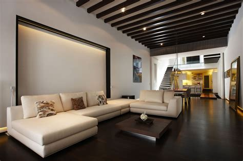 Contemporary Home Interiors by Pre War Shophouse In Singapore Transformed Into Luxury