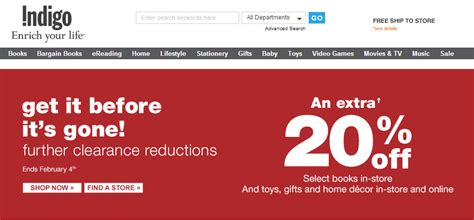 Home Decor Store Edmonton by Chapters Indigo Extra 5 Off 30 Purchase February Coupon