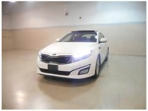 Kia Optima Panoramic Roof 2014 Kia Optima Ex Panoramic Roof Polar White Outside
