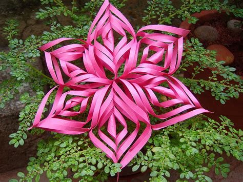 3d Paper Snowflakes - 3d paper snowflake flickr photo