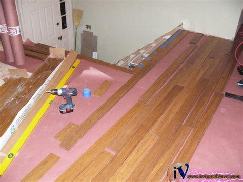 Racking Hardwood Floors by Stranded Bamboo Flooring Installation Gurus Floor