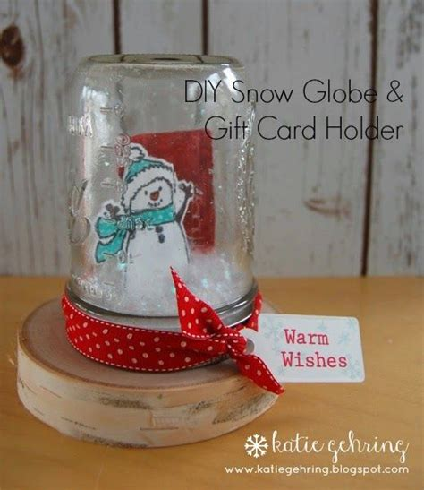 Mason Jar Snow Globe Gift Card - 1000 ideas about gift card displays on pinterest card displays silent auction and