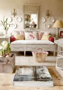 vintage country home decor cool ideas pinterest pops of red give a vibrancy to this living rooms muted palette all