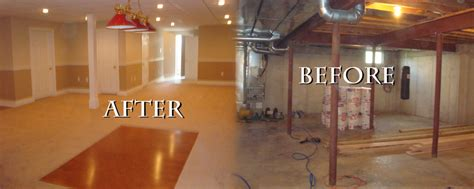 refinishing a basement rooms