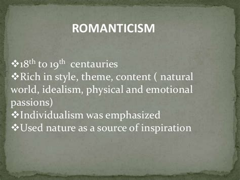 themes of english romantic poetry romanticism in english literature