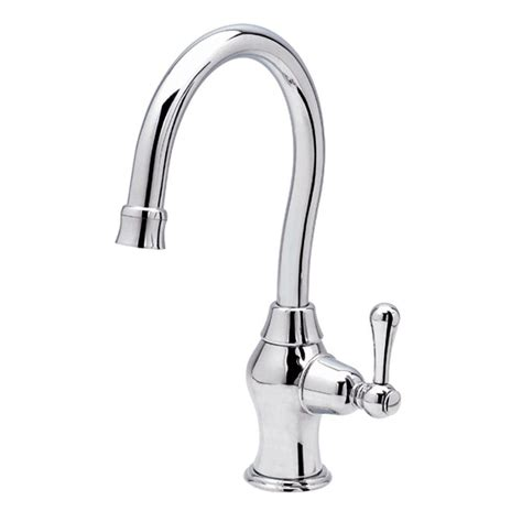 danze single handle kitchen faucet in chrome