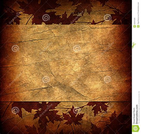 grunge floral parchment frame royalty free stock photos image 8762458 floral grunge frame with autumn foliage on parchment pa royalty free stock images