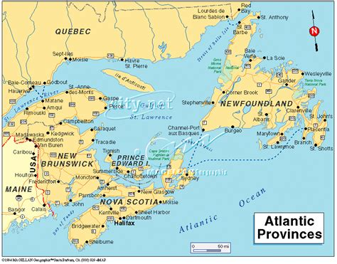 map eastern canada provinces maps of eastern canada