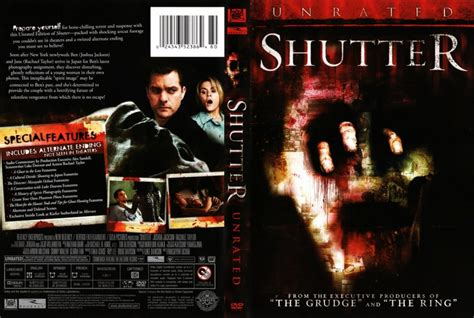 unrated video shutter unrated 2007 movie dvd scanned covers