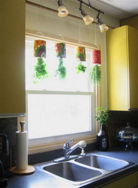 hanging window garden 25 cool diy indoor herb garden ideas hative