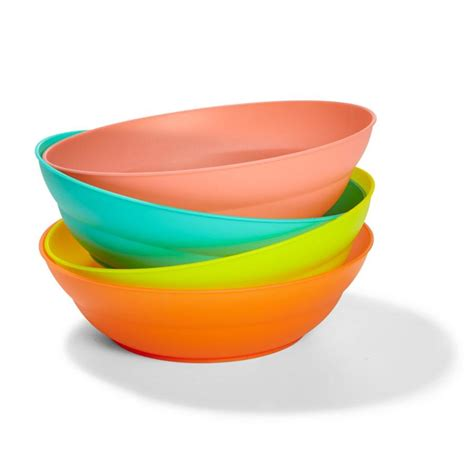 Latest Kitchen Ideas by Plastic Bowls Set Of 4 Kmart