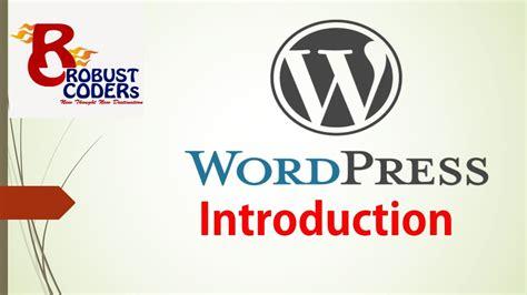 wordpress tutorial video in hindi wordpress tutorial in hindi part 1 what is wordpress