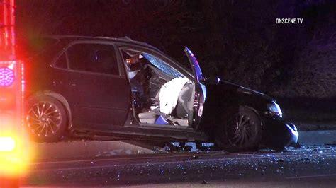 car crash in vista ca 1 killed others injured in whittier 3 car crash abc7