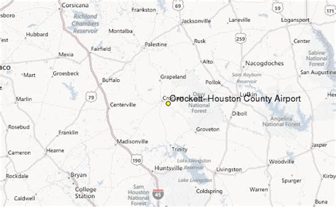 map of crockett texas crockett houston county airport tx weather station record historical weather for crockett