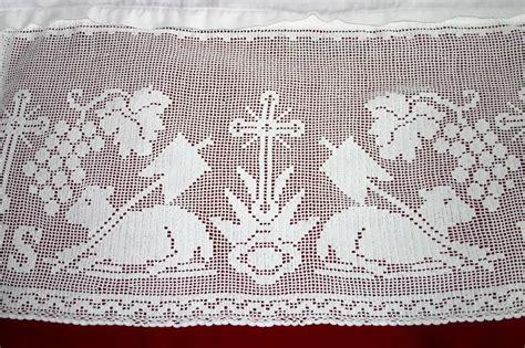 imagenes religiosas a crochet 122 best crochet altar lace edging images on pinterest