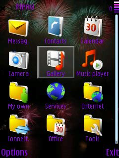 new themes s60 new year 2008 s60 3rd edition themes